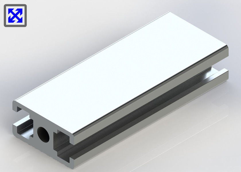 8.0mm Hole T Slot Aluminum Framing , Extruded Aluminum T Slot Plate 20 * 40 Anodized